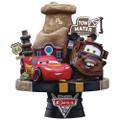Beast Kingdom - D-Select Series Statues - Disney - DS-009 Cars Diorama - Statue
