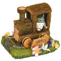 Benelic - My Neighbor Totoro - Totoro On A Choo Choo Train Diorama - Statue