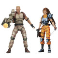 "Neca - Alien vs Predator 7"" Figures - Dutch & Lin Arcade 2-Pack - Action Figure"