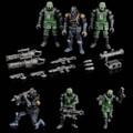 Toynami - Acid Rain Figures - B2Five K6 Jungle Soldier Set - Action Figure