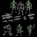 Toynami - Acid Rain Figures - B2Five K6 Jungle Soldier Set - Action Figure