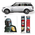 Fanwraps - Automotive Graphics - Star Wars - Classic Boba Fett Passenger Series Window Decal