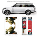 Fanwraps - Automotive Graphics - Star Wars - Classic Yoda Passenger Series Window Decal