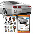 Fanwraps - Automotive Graphics - Star Wars - Heroes & Villains Family Graphics