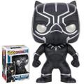 Funko - Pop! Marvel - Captain America 3 Movie Civil War - Black Panther - Action Figure