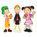 Jakks Pacific - El Chavo Figures - 6 Pcs Vinyl Figures Assortment - Action Figure