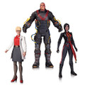 Dc Collectibles - Batman Arkham Origins Figures - Electrocutioner / Lady Shiva / Harleen Quinzell 3-Pack - Action Figure