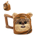 Vandor - Drinkware - Star Wars - 24 oz. Ewok Ceramic Sculpted Mug