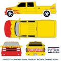"Greenlight Collectibles - 1:18 Diecast - Kill Bill: Vol. 1 (2003) - 1997 Chevrolet C-2500 Crew Cab Silverado ""Pussy Wagon"""