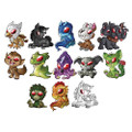 Cryptozoic Entertainment - Cryptkins Vinyl Figures - Series 2 - 12pc Mini Figure Blind Box Display - Action Figure