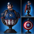Gentle Giant Studios - Captain America 3 Movie Civil War Mini Busts - Captain America Classic Bust