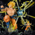 Tamashii Nations - Figuarts Zero Figures - Dragon Ball Z - Super Saiyan Son Goku (The Burning Battles) - Statue