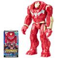 "Hasbro Inc - Avengers 3 Infinity War Movie Figures - 12"" Titan Hero Series Hulkbuster w/ Power FX Port - AS00 - Action Figure"