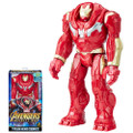 "Hasbro Inc - Avengers 3 Infinity War Movie Figures - 12"" Titan Hero Series Hulkbuster w/ Power FX Port - AS00 - Action Figure"