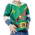 Bumkins Finer Baby Products - Legend Of Zelda Accessories - Link Jr Sleeved Superbib