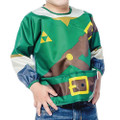 Bumkins Finer Baby Products - Legend Of Zelda Accessories - Link Jr Sleeved Superbib