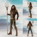 Kotobukiya - DC Comic's ArtFX+ Statues - Justice League Movie - 1/10 Scale Aquaman - Statue