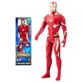"Hasbro Inc - Avengers 3 Infinity War Movie Figures - 12"" Titan Hero Series Iron-Man w/ Power FX Port - AX00 - Action Figure"