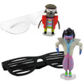 "Jazwares - Regular Show - 3"" 80's Bobblehead Figure w/ Glasses Asst - Action Figure"