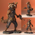 Gentle Giant Studios - Marvel Statues - Guardians Of The Galaxy 2 - 1/8 Scale Rocket And Groot Collector's Gallery Statue - Statue