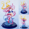 Tamashii Nations - FiguartsZero Chouette Statues - Sailor Moon - Moon Crystal Power, Make Up Sailor Moon - Statue
