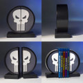 Gentle Giant Studios - Bookends - Marvel - The Punisher Logo