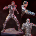 Iron Studios - Iron Studios Art Scale 1/10 Statues - Justice League Movie - Cyborg - Statue