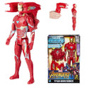 "Hasbro Inc - Avengers 3 Infinity War Movie Figures - 12"" Titan Hero Series Power FX Iron Man - 0000 - Action Figure"