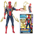 "Hasbro Inc - Avengers 3 Infinity War Movie Figures - 12"" Titan Hero Series Power FX Iron Spider - 0000 - Action Figure"