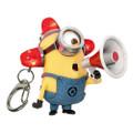 Ppw Toys - Minions Movie Keychains - 18pc Minion Light Up/Sound Key-Chain Display
