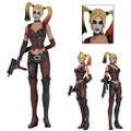 Neca - Batman Arkham City 1/4 Scale Figures - Harley Quinn - Action Figure