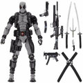 Neca - Marvel 1/4 Scale Figures - Deadpool X-Force Version - Action Figure