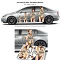 Fanwraps - Automotive Graphics - Star Wars - Slave Leia - MEDIUM