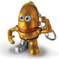 Ppw Toys - Mr Potato Head Keychains - Star Wars - C-3PO