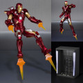 Tamashii Nations - S.H.Figuarts Figures - Marvel - Iron Man Mark VII And Hall Of Armor Set - Action Figure