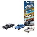Mattel - Diecast Vehicles - Fast & Furious - 3-Pack Assortment