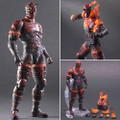 Square Enix - Metal Gear Play Arts Kai Figures - MGS V The Phantom Pain Man On Fire - Action Figure