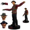 Factory Entertainment - Premium Motion Statues - Nightmare on Elm Street - Freddy Krueger - Bobblehead