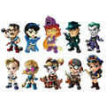 Cryptozoic Entertainment - DC Comic's Bombshells Vinyl Figures - 12pc 'Lil Sirens Mini Vinyl Figures Series 3 Display - Action Figure