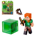 "Jazwares - Minecraft 3"" Figure - Alex w/ Accessory - Action Figure"