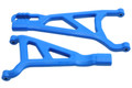 RPM R/C Products - Blue Front Left A-arms for the E-Revo 2.0 Brushless Truck - 81515