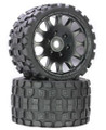 Power Hobby - Scorpion Belted Monster Truck Wheels / Tires (pc)- Sport - PHT1131S