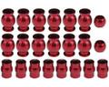 Hot Racing - Alum. Pivot Ball Set, for Arrma 1/10 4x4 (22pcs) - ATF160B02