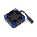 Protek R/C - 30x30x10mm Aluminum High Speed HV Cooling Fan (Blue/Black) - 2112