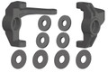 Corally - Steering Block - Left/Right - Composite - 1 Set: Mammoth, - 00250-029