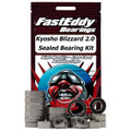 Team FastEddy - Kyosho Blizzard 2.0 Sealed Bearing Kit - 6030