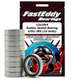 Team FastEddy - 12x18x4mm Rubber Sealed Bearing (10) 6701-2RS - 270