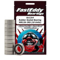 Team FastEddy - 6x12x4mm Rubber Sealed Bearing (10) MR126-2RS - 272