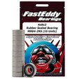Team FastEddy - 4x8x3mm Rubber Sealed Bearing (10) MR84-2RS - 279