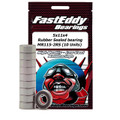 Team FastEddy - 5x11x4mm Rubber Sealed Bearing (10) MR115-2RS - 268